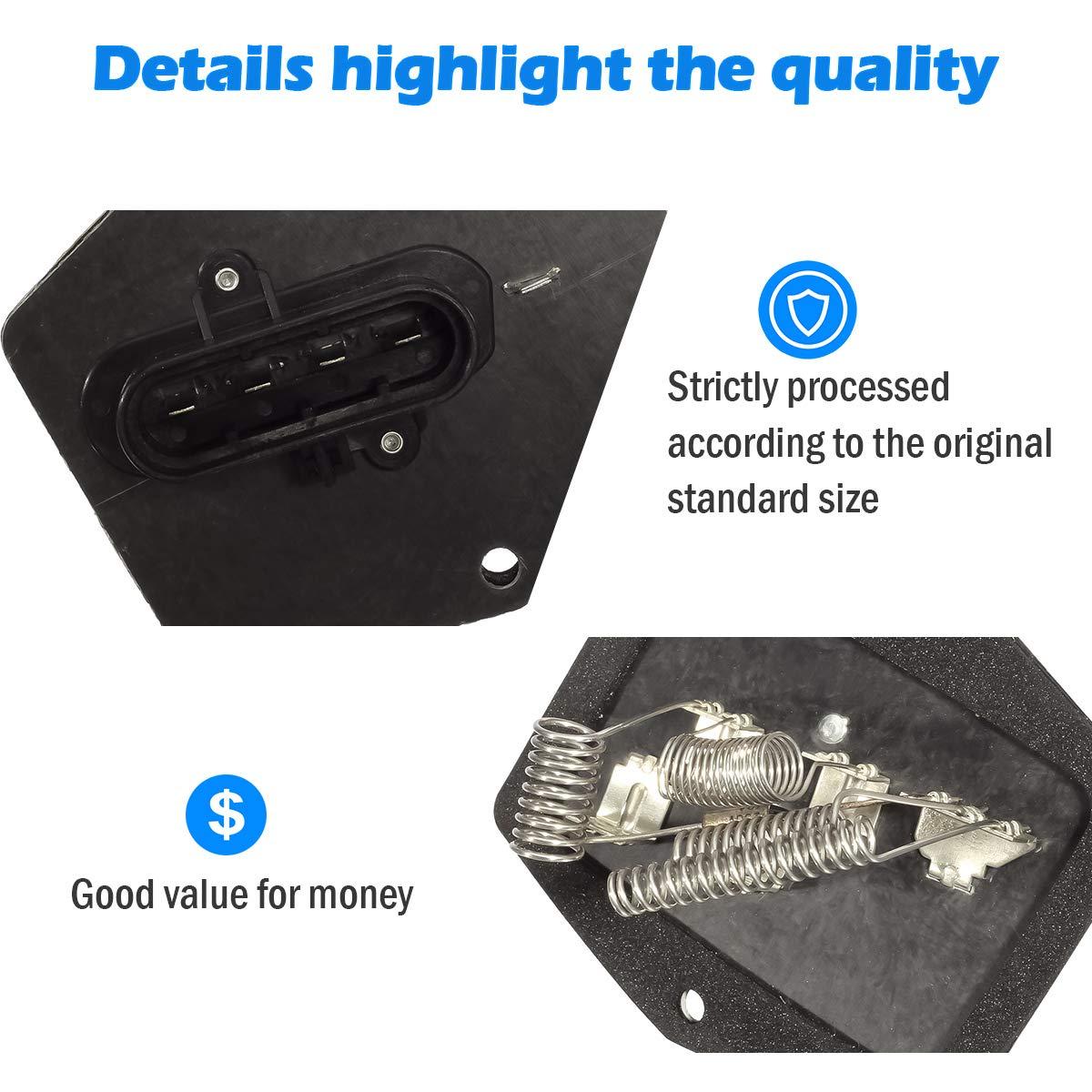 PartsSquare HVAC Blower Motor Resistor 973-003 15039098 Compatible with Chevy C1500 C2500 C3500 K1500 K2500 K3500 Pickup Suburban,GMC C//K 1500 2500 3500 Pickup Suburban 95 96 97 98 99