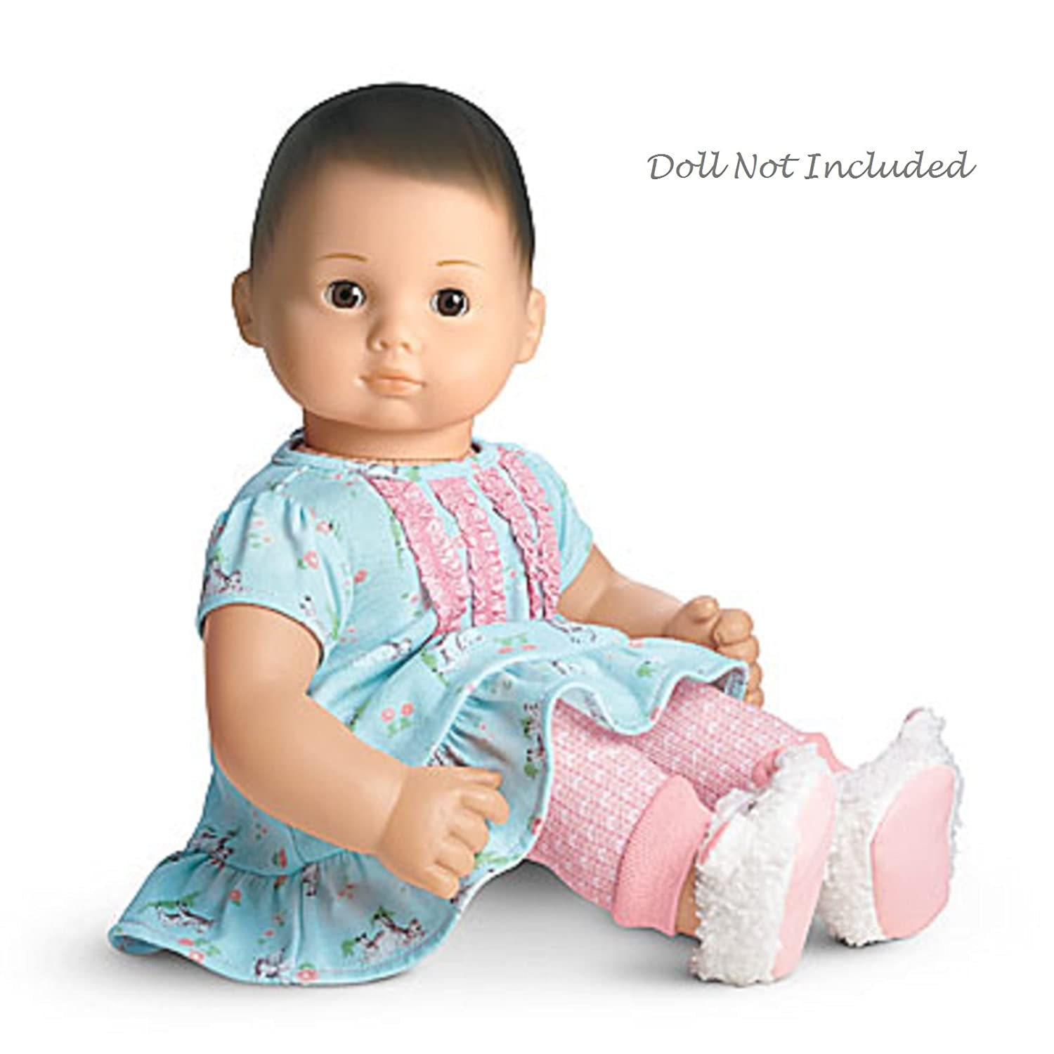 "American Girl Bitty Baby Lambie PJ s for 15"" Dolls Doll Not"