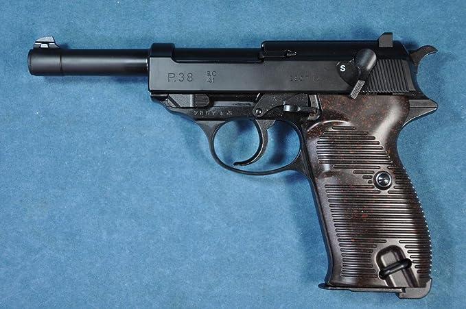 Tokyo Marui No.2 Walther P38 10 years old over Air HOP handgun