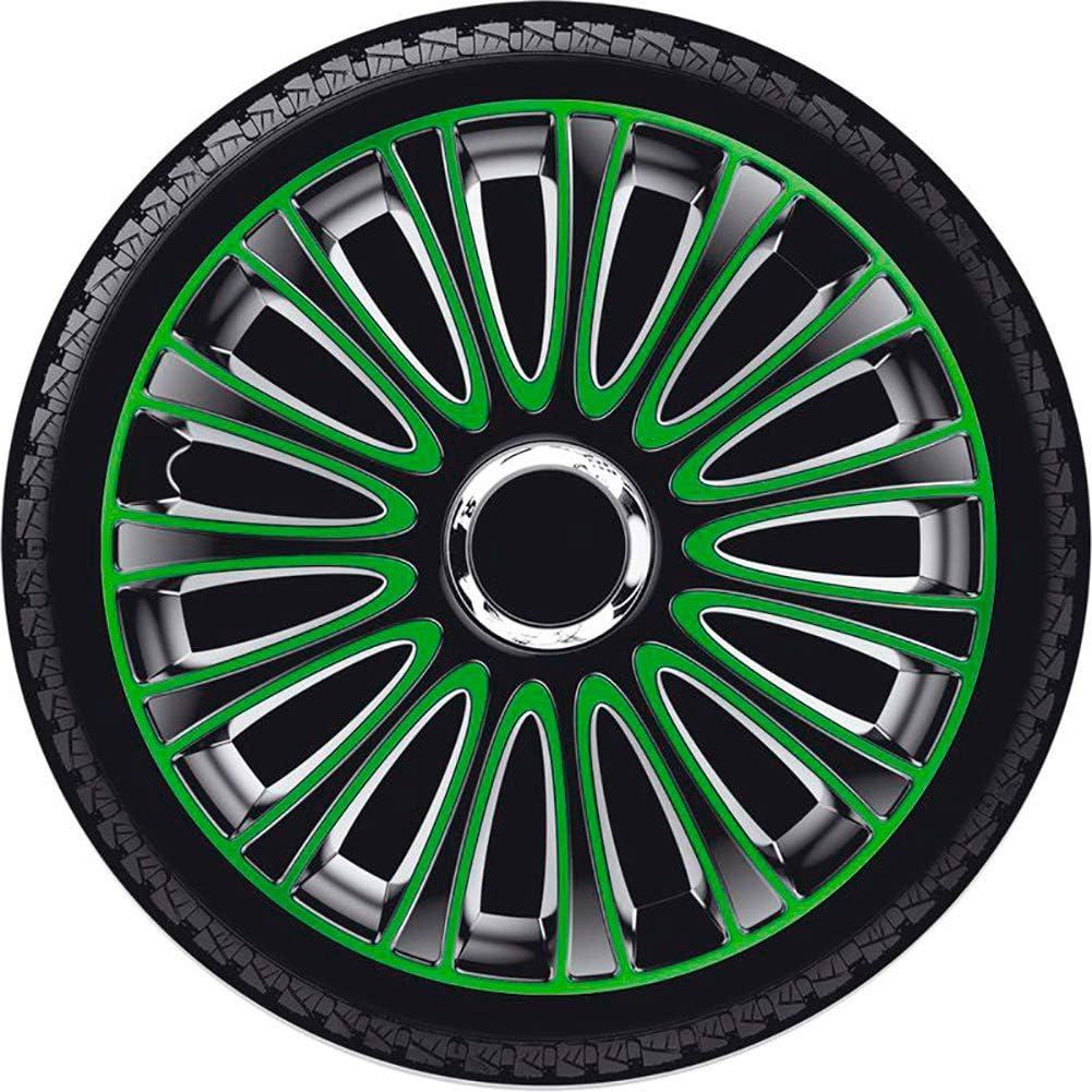 Jeu denjoliveurs LeMans 13-inch noir//vert