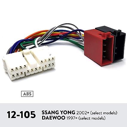 UGAR 12-105 Arnés para SSANG Yong 2002+ (Seleccionar modelos ...