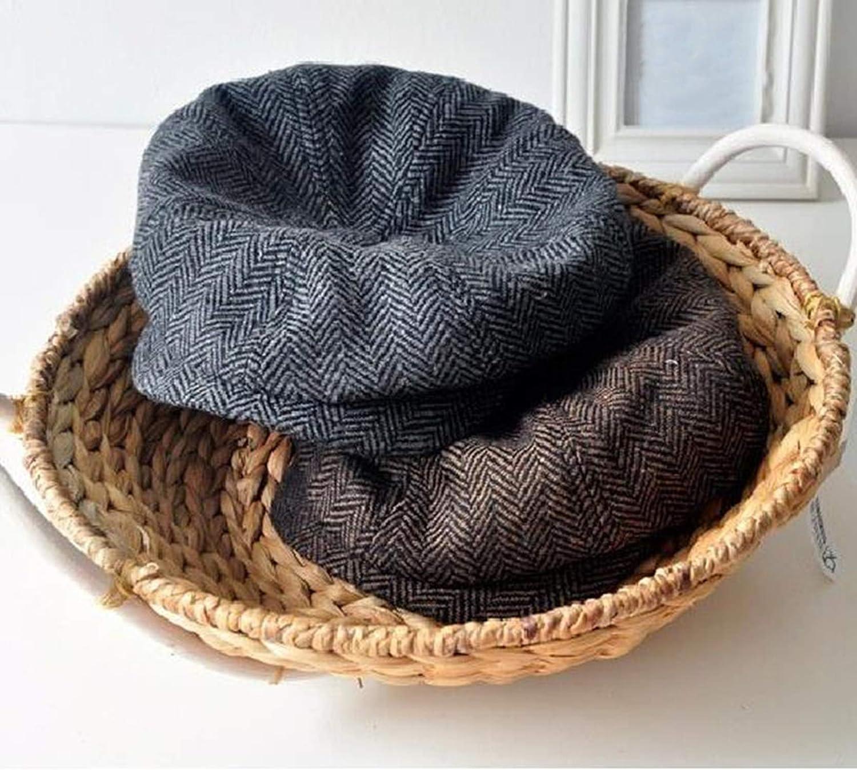 5fbd4190 Fashion Stripe Beckham Male Octagonal Cap Newest Men Woolen Newsboy Cap  Painter Beret Hat Retail at Amazon Men's Clothing store: