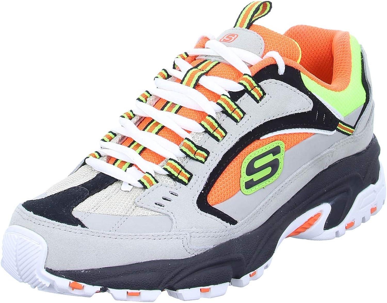 Sneakers STAMINA-CUTBACK Gray/Orange