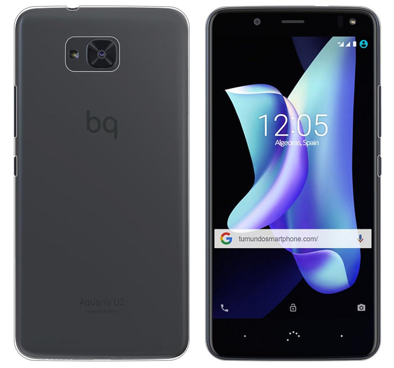 Tumundosmartphone Funda Gel TPU para BQ AQUARIS U2 / U2 Lite Color ...