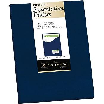 Amazon Com Southworth Resume Presentation Folders 9 Quot X