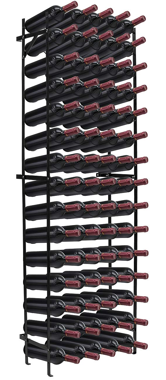 Sorbus Wine Rack Stand - Holds 75 Bottles of Your Favorite Wine - Large Capacity Elegant Wine Rack for Any Bar, Wine Cellar, Kitchen, Dining Room, etc (Tall Wine Rack - 75 Bottle)