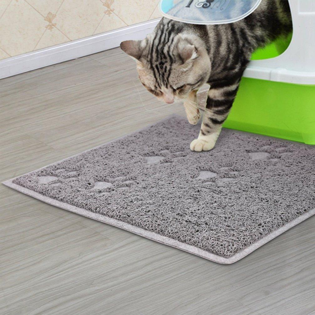 Be Good Pet Food Mat Waterproof Non Slip Feeding Mat Food Safe Dog Bowl Place...