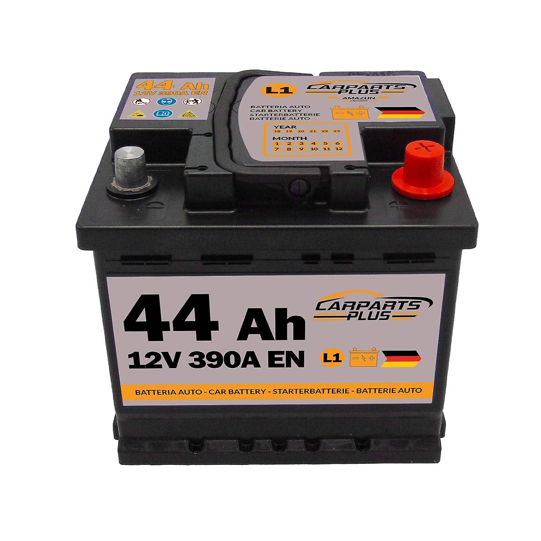 CARPARTS PLUS L144CARPARTS Batteria 44Ah 390A 12V Polo DX