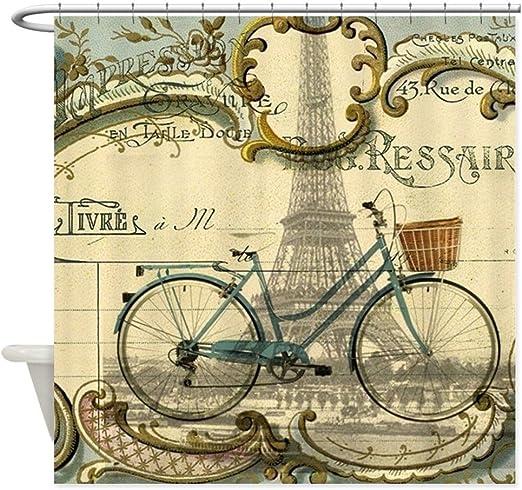CafePress – Torre Eiffel de París – Bicicleta decorativa tela ...