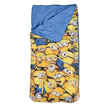 Minions Despicable Me Niños Saco de dormir - Azul -: Amazon.es: Juguetes y juegos