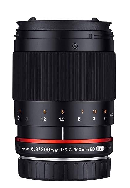 Samyang SAM300CANON - Objetivo para cámara Canon, 300 mm, F6.3 ED ...