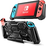 Mumba Protective Case for Nintendo Switch, [Battle Series] Heavy Duty Grip Cover for Nintendo Switch Console with…