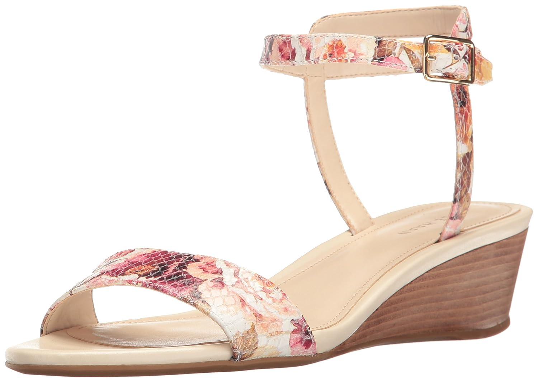 Womens Elsie Hrdware Ii Wedge Sandal, Ivory, 8 B US Cole Haan