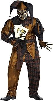 Amscan - Disfraz de bufón medieval maligno (tallas M a XL ...