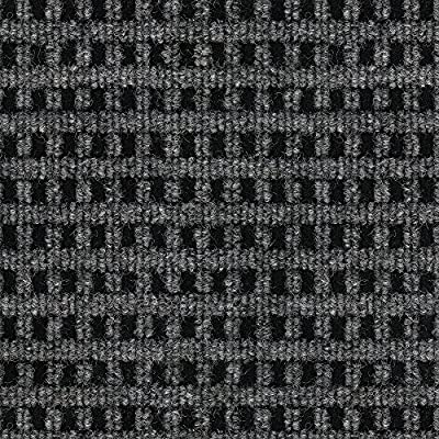 """Smart Transformations from 4urFloor 72MCN Mosaic (Smoke) Carpet Tile Peel and Place, 24""""x 24"""", Black"""