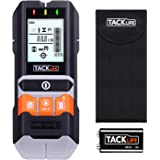 Stud Finder, Tacklife DMS05 4 in 1 Multi-Wall Detector with 5.5 cm Backlit Screen, Probe Pin- Fit for Magnetic/Non-Magnetic Metal, AC Wire, Wood and Moisture Detecting