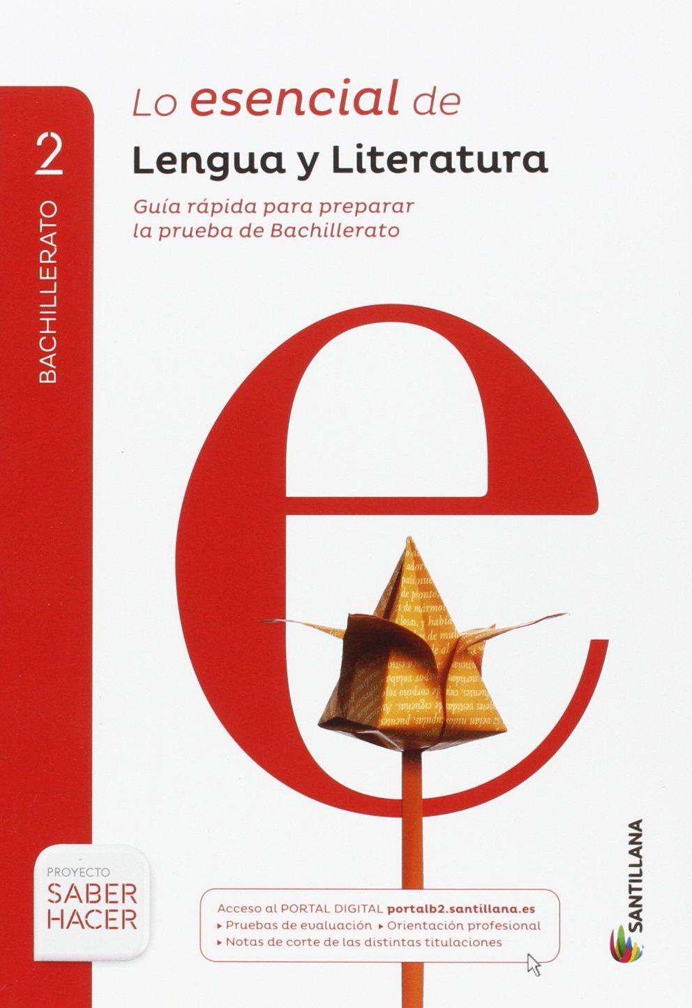 LENGUA Y LITERATURA SERIE COMENTA 2 BTO SABER HACER - 9788414101810: Amazon.es: Vv.Aa.: Libros