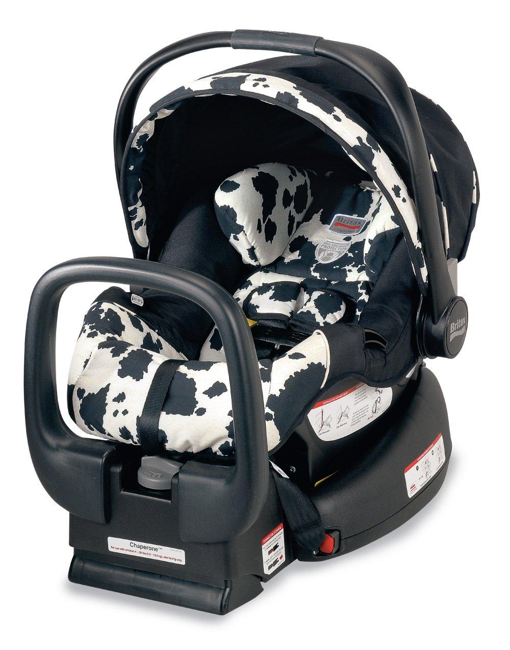 Amazon.com: Britax Chaperone Infant Car Seat, Cowmooflage (Prior Model):  Baby