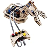 Robotic Arm Kit DIY 4-Axis Wooden Mental Servo Rollarm for Arduino Uno