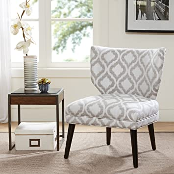 Madison Park FPF18 0397 Colette Armless Retro Wing Chair