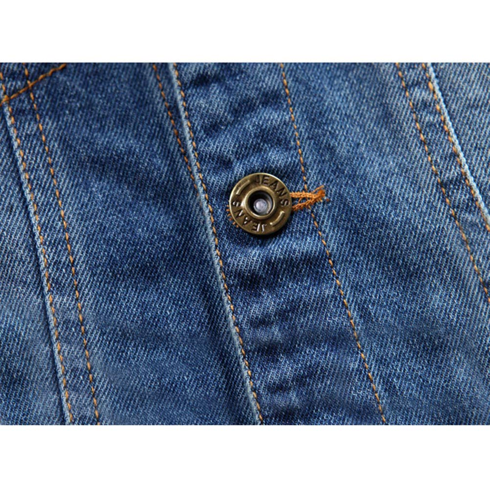 HZYBABY Toddler Girls Button Down Jean Jacket Coats Kids Spring Denim Jacket Outwear Cowboy Overcoat