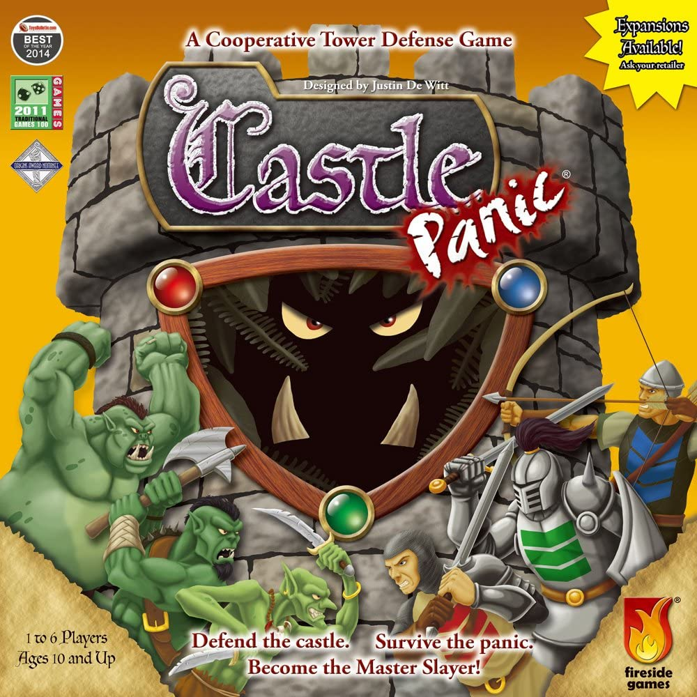 Amazon Com Fireside Games Castle Panic Board Games For Families Board Games For Kids 7 Up Holiday Toy List Toys Games