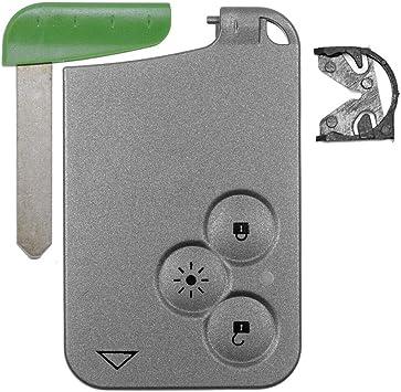 Auto Schlüssel Funk Fernbedienung 1x Keycard Gehäuse 3 Elektronik