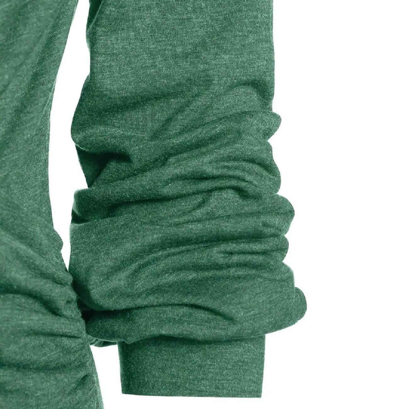 Tsmile Women/'s Plus Size T-Shirts Stylish Super Soft Long Sleeve Ruched Crew Neck Loose Fit Wrap Tunic Sweatshirt