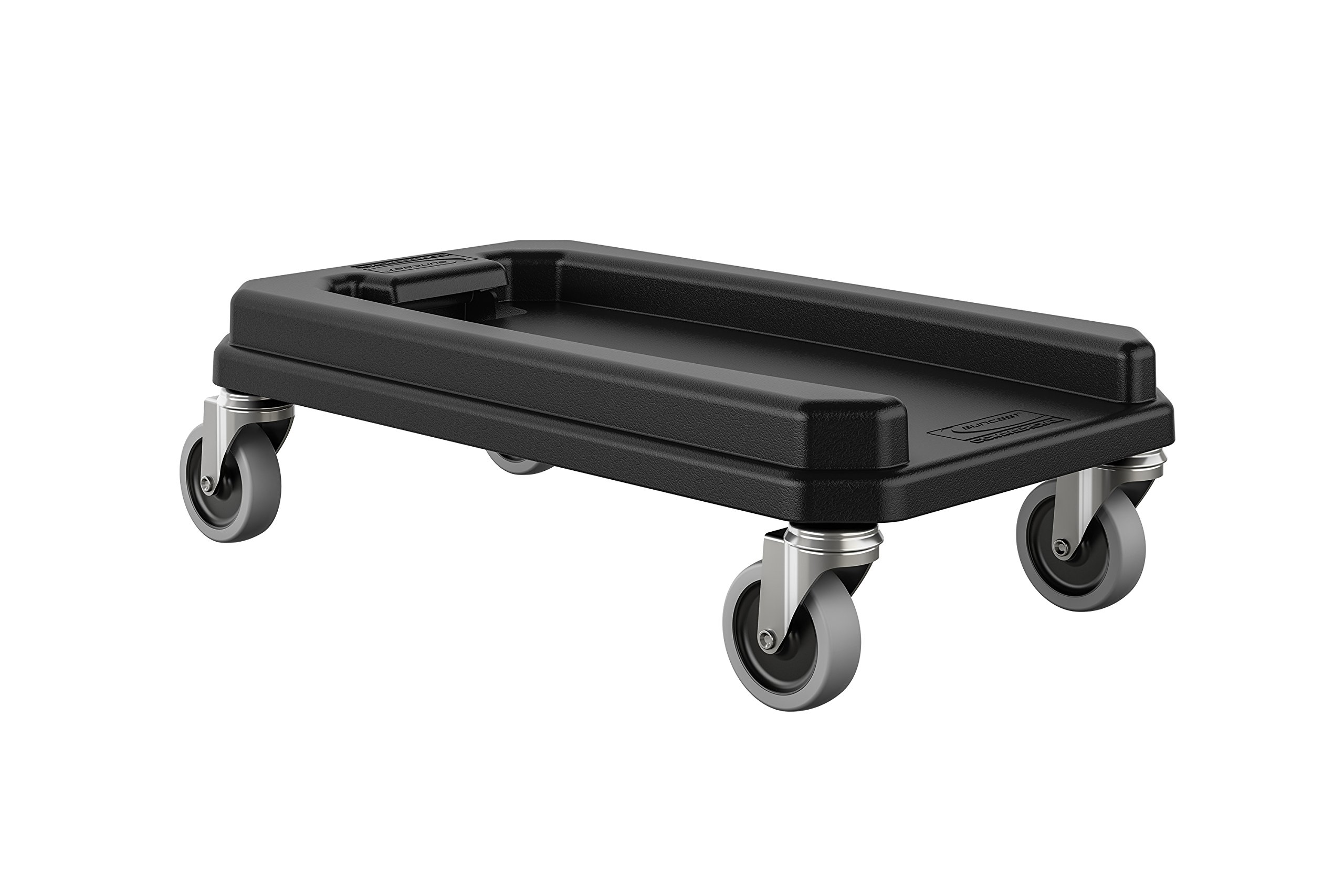 Suncast Commercial TCNDOLLY Dolly for Slim Trash Can, 6.177'' Height, 11.882'' Width, Gray