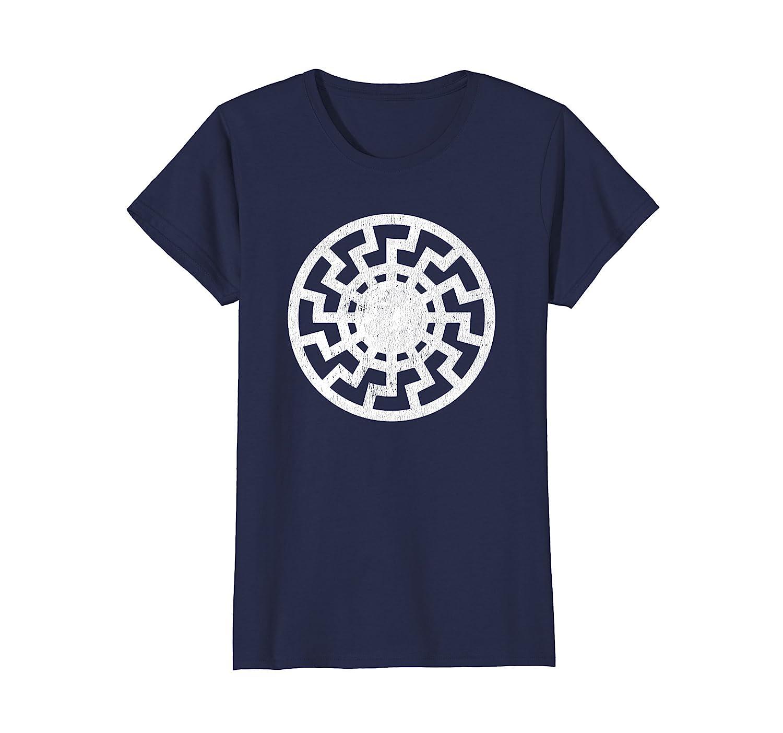 Black Sun Schwarze Sonne Sonnenrad Sun Wheel Shirt