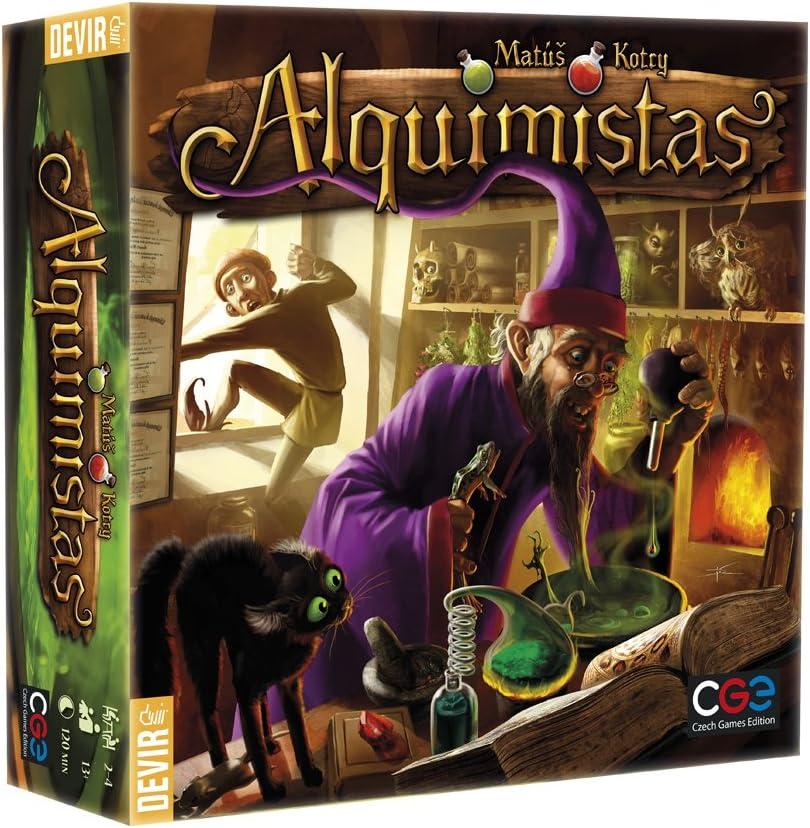 Devir - Alquimistas, Juego de Mesa (222531)