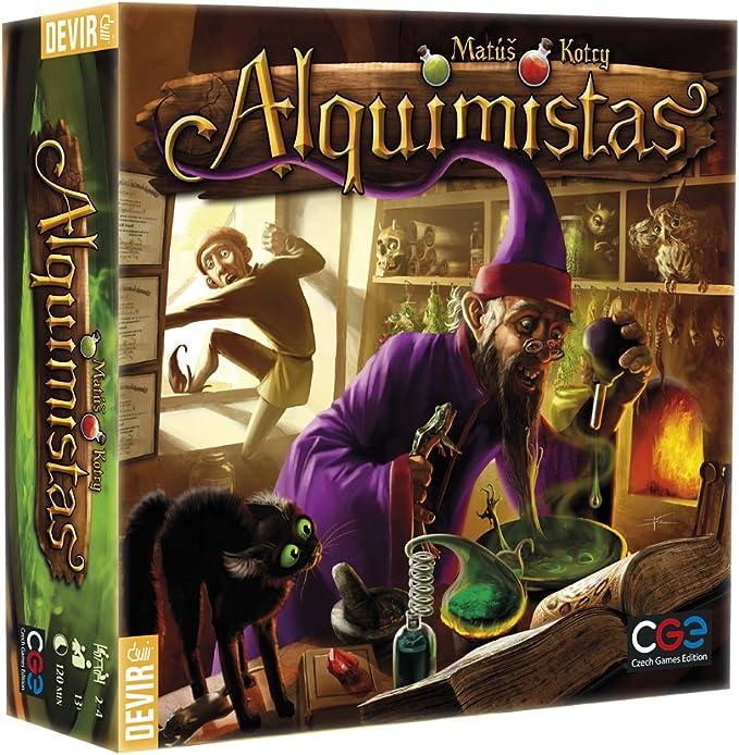 Devir - Alquimistas, Juego de Mesa (222531): Amazon.es: Juguetes y ...