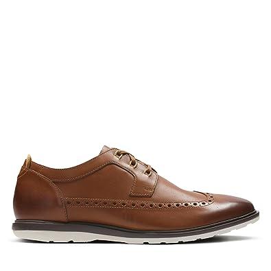 Aile Glaston - Chaussures À Lacets Pour Hommes / Noir Clarks Ki5D9wztP
