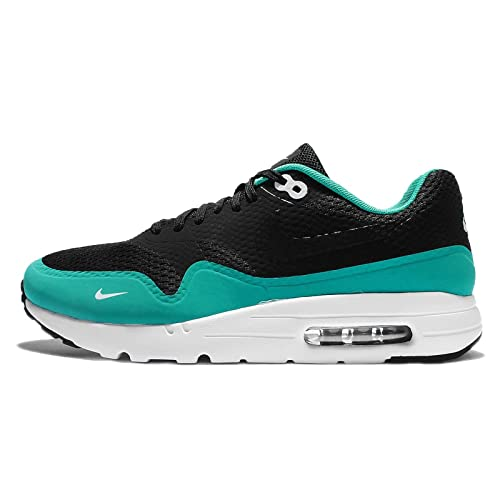 release date: f228f 9ec14 Image Unavailable. Image not available for. Color  Nike Men s Air Max 1  Ultra Essential, BLACK BLACK-CLEAR JADE-WHITE