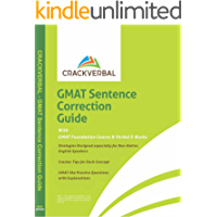 GMAT Sentence Correction Guide: Concepts, Strategies, Practice Questions, GMAT Foundation Course & Verbal E-Books