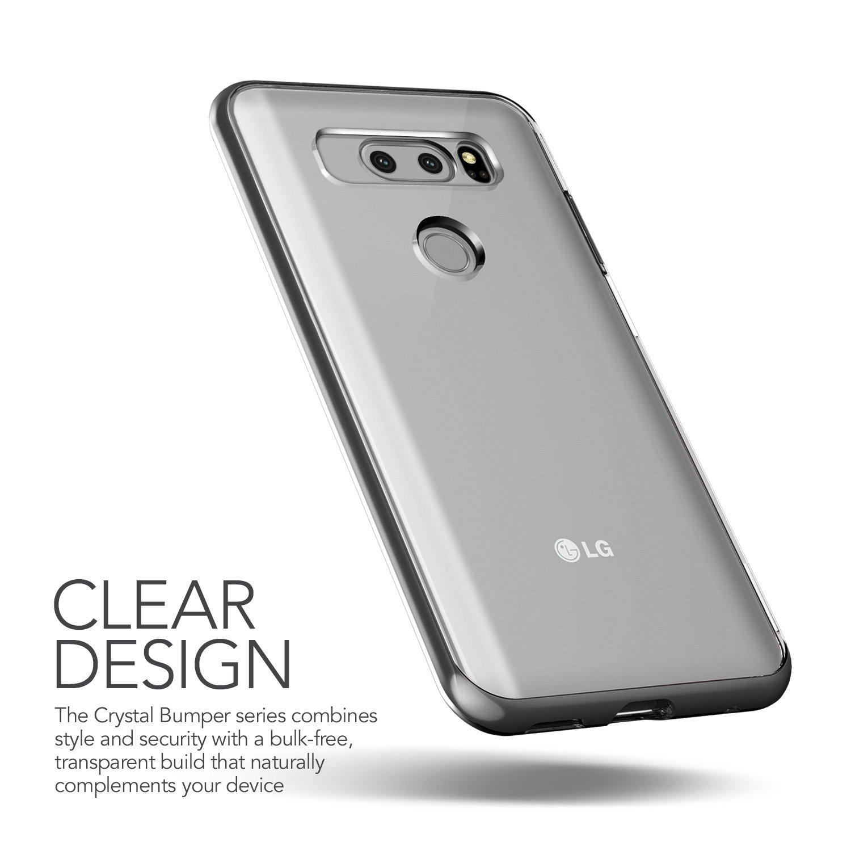 Amazon.com: LG V30 Caso, cubierta de Slim Fit Full Body ...