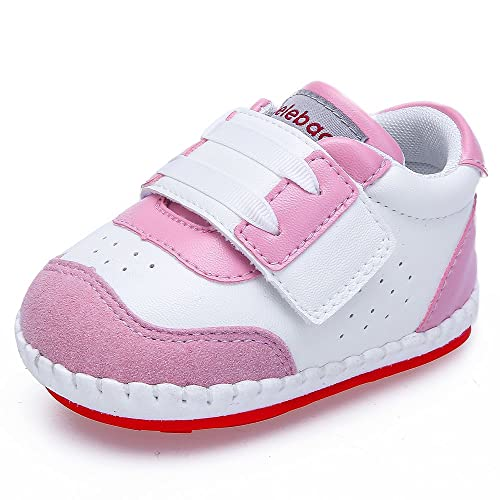 DELEBAO Zapatos Bebe Niña Zapatillas de Deporte Bebe Primeros Pasos Calzado para Bebes con Suela Antideslizante: Amazon.es: Zapatos y complementos