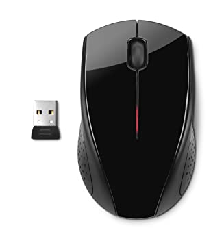 HP X3000 Wireless Mouse Black H2C22AAABL