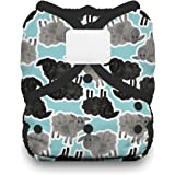 Thirsties Duo Wrap Cloth Diaper Cover, Hook and Loop Closure, Counting Sheep Size Two (18-40 lbs)