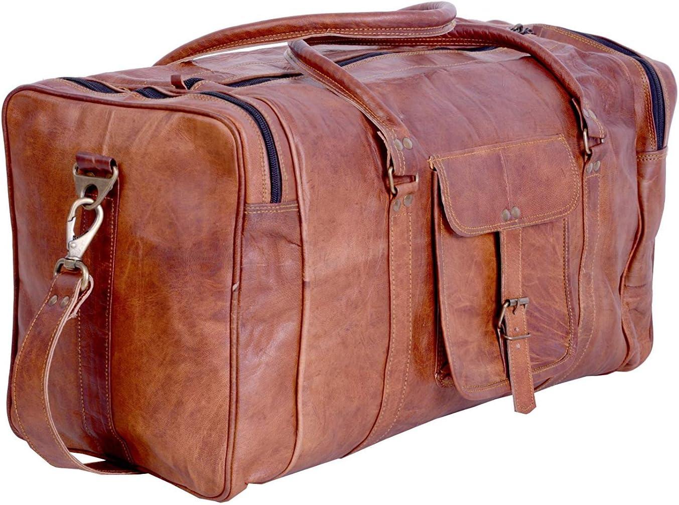 KPL Vintage Leather Duffel Bag