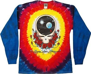 Space Your Face Tie Dye Long Sleeve T-Shirt Grateful Dead