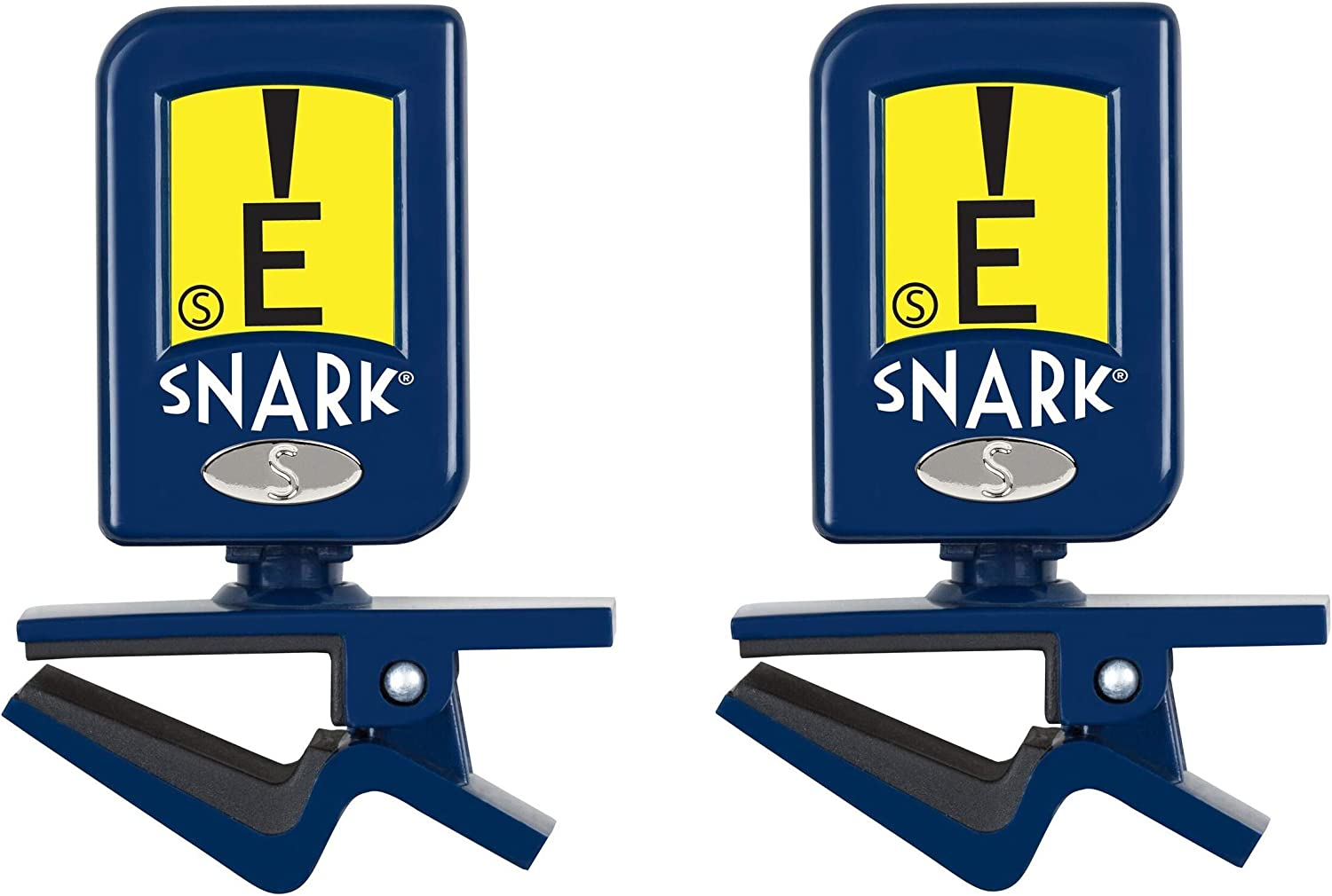 New Snark Napoleon N-5 Guitar /& Bass Clip-On Tuner with Pick Holder 2-PACK