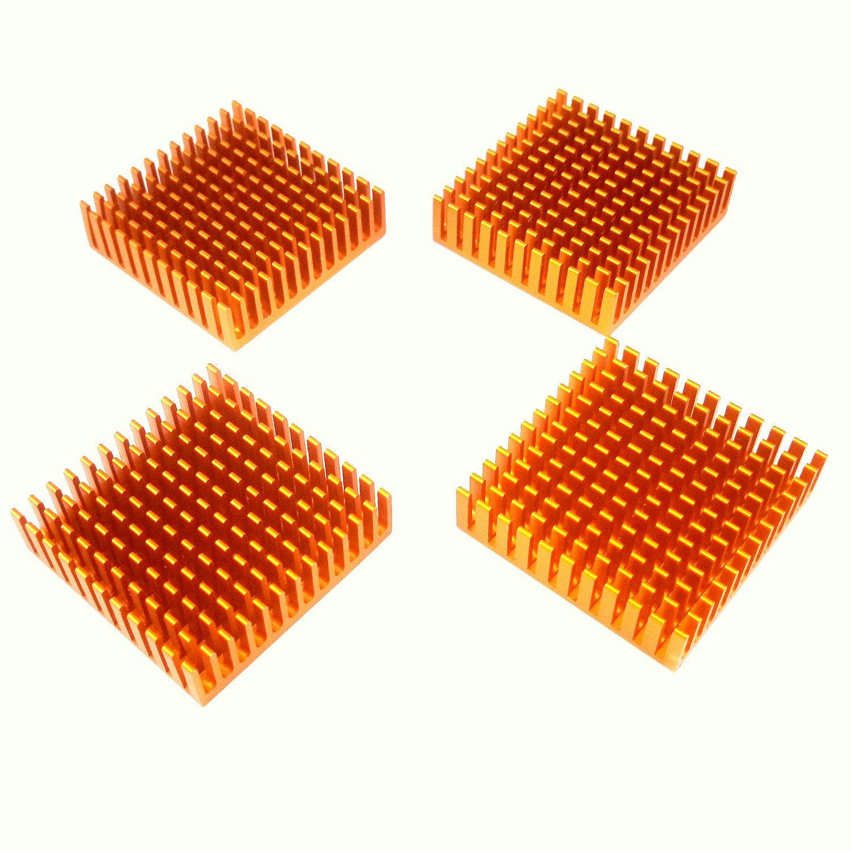 Easycargo 100pcs 12 Sizes 15mm Copper Shim Thermal Pad Kit 0.1mm 0.3mm 0.4mm 0.5mm 0.6mm 0.8mm 1mm 1.2mm 1.5mm 1.8mm 2mm 3mm Cooler heatsink for Cooling CPU GPU VGA RAM NVMe M.2