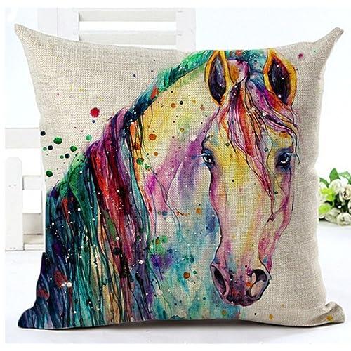 Horse Pillows Amazon Com