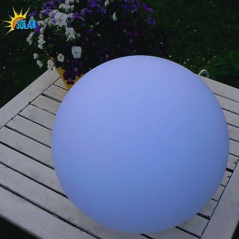 30 Cm 30 30 Cm Frank Led Solar Kugel Leuchten Kunststoff Silber 2-4 Led