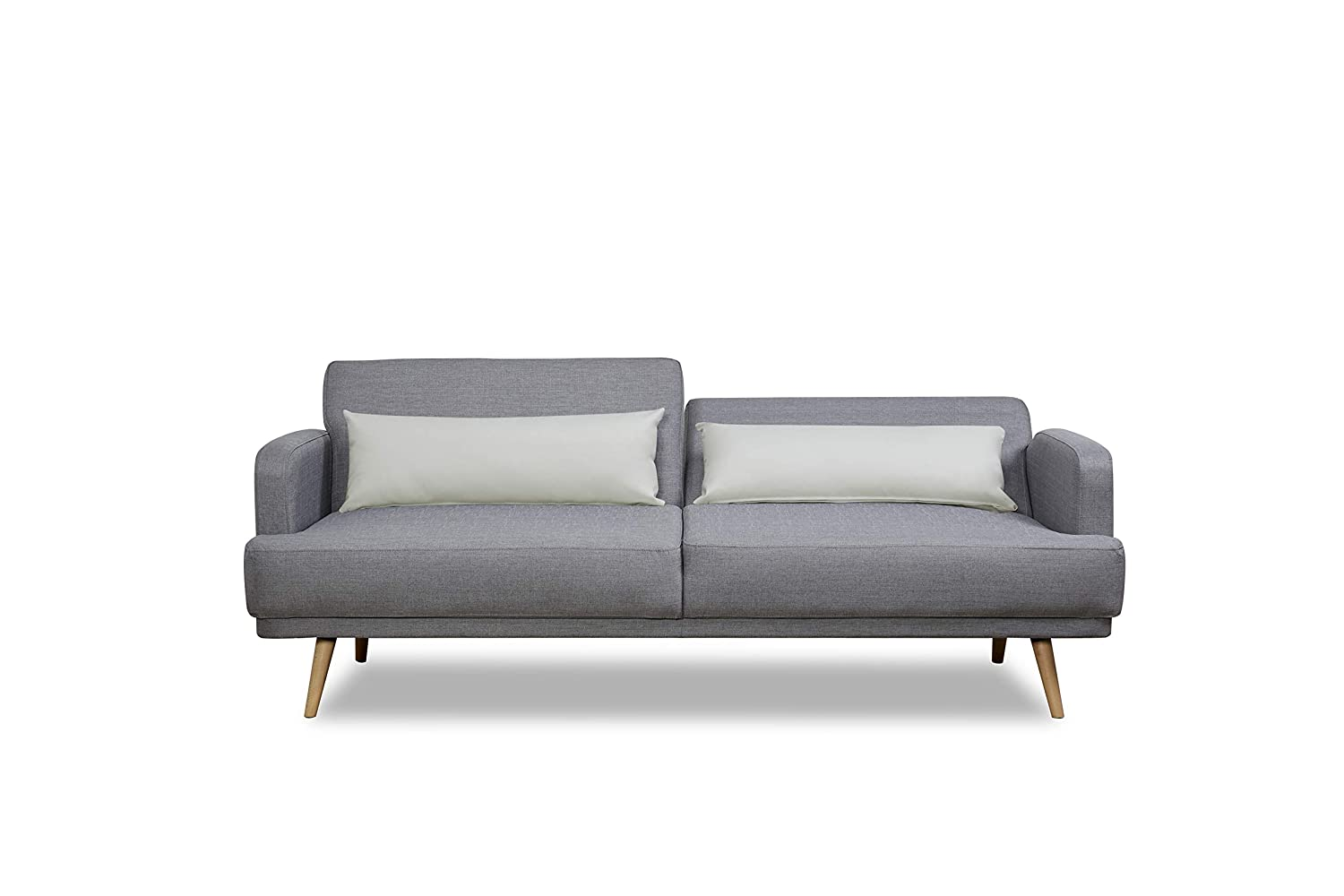 Stupendous Leader Lifestyle Dante Sofa Bed In Aston Grey Fabric With Alphanode Cool Chair Designs And Ideas Alphanodeonline