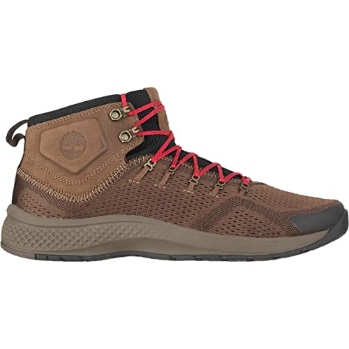 best prices hot products really comfortable Timberland Mens Flyroam Trail Mid Fabric Shoe: Amazon.co.uk ...
