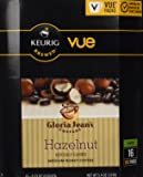 Gloria Jean's Hazelnut Coffee Keurig Vue Portion Pack, 32 Count