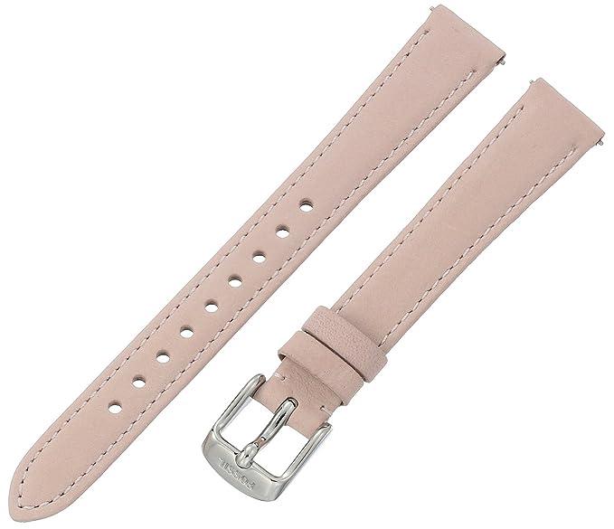 3b1ffa12b Fossil Women's S141104 White Leather 14mm Watch Strap: Amazon.ca ...
