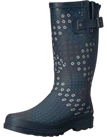 8c6b196b903 Western Chief Women s Printed Tall Rain Boot